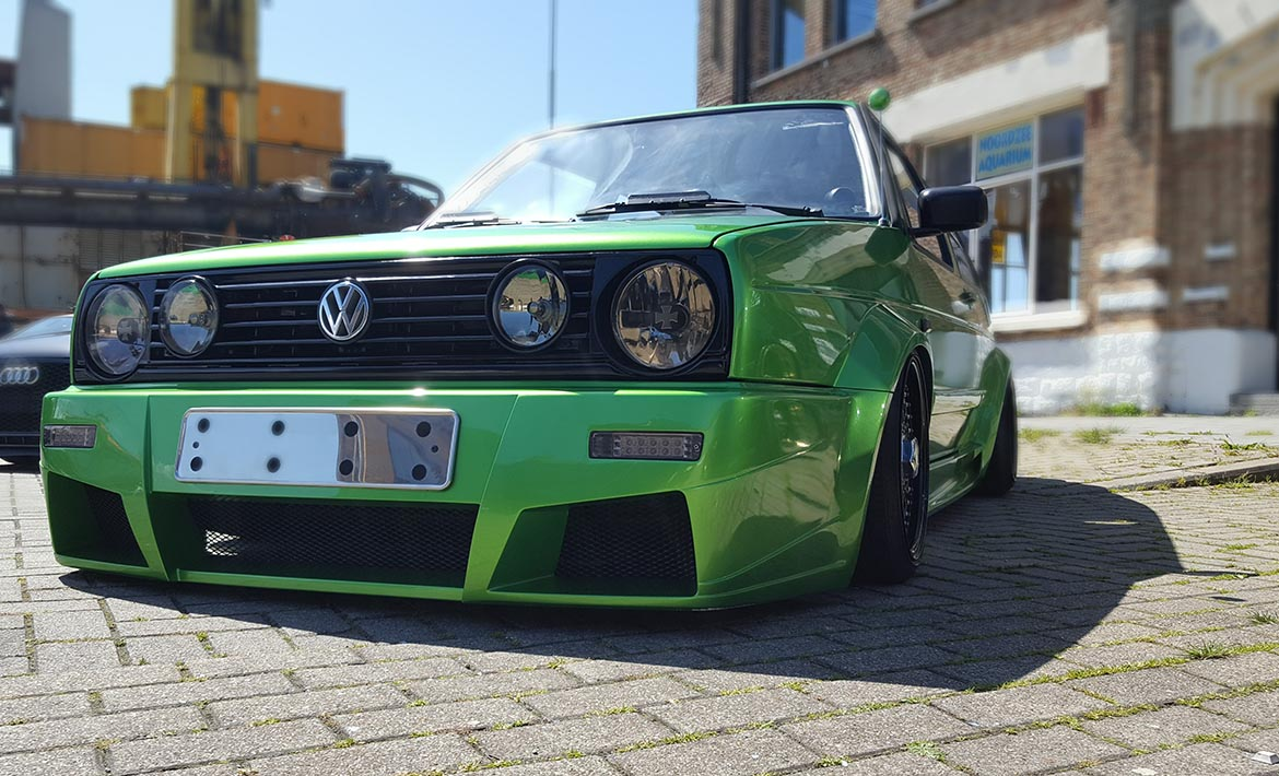 Golf 2 green repaint